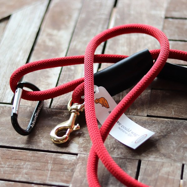 ★会員様5%OFF★【a tail we could wag】Mountain rope lead (マウンテンロープリード)