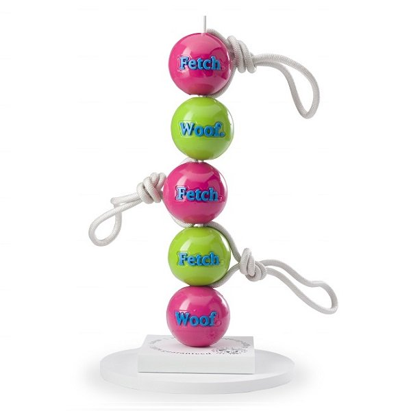 【PLANET DOG】ORBEE-TUFF FETCH BALL WITH ROPE (ロープ付きオービーボール)★レターパックOK★