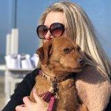 【Dog With a Mission】DWAM 本革製ドッグカラー&ブレスレット (LOU LOU) ★レターパックOK★