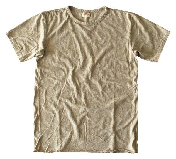 スーピマフェザーライト杢天竺クルーネックTシャツ