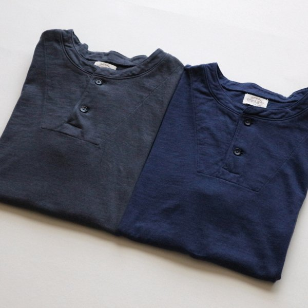EGYPTIAN COTTON 2 BUTTON HENLEY