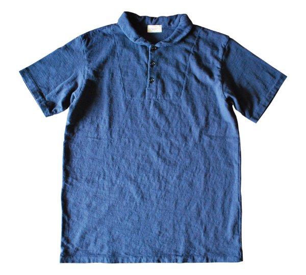 リバイバル天竺ポロTシャツ(ショールカラー)