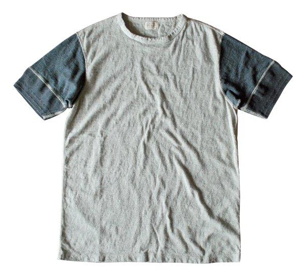 リバイバル杢天竺クルーネックTシャツ