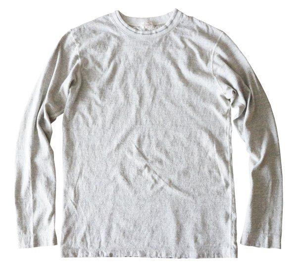 リバイバル天竺L/SクルーネックTシャツ