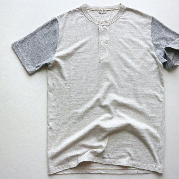 SAN JOAQUIN COTTON DOUBLE BREASTED HENLEY