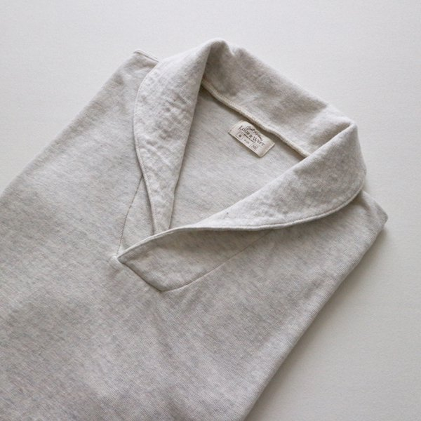 SAN JOAQUIN COTTON SHAWL COLLAR POPOVER TEE
