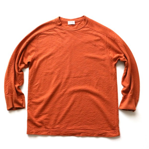 BROAD STITCH KNIT Q/S CREWNECK
