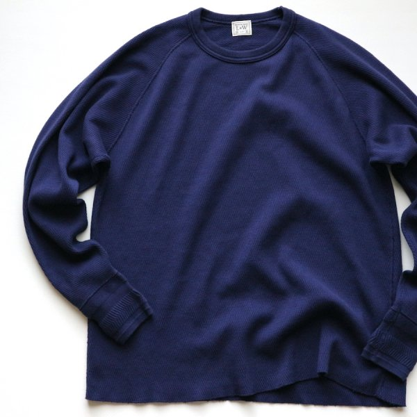 COMBED YARN HIGH TENSION HONEYCOMB THERMAL CREWNECK