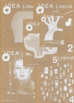 IDEA Liquid Back Issue Compilation vol.1-6 アイデア リキッド バックナンバー・コンピレーション 6巻セット