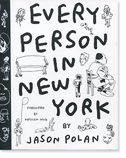 EVERY PERSON IN NEW YORK by Jason Polan ジェイソン・ポラン 作品集