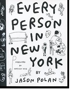 EVERY PERSON IN NEW YORK by Jason Polan ジェイソン・ポラン 作品集