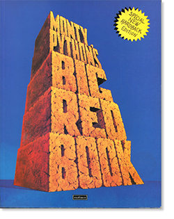 MONTY PYTHON'S BIG RED BOOK new edition モンティ・パイソン