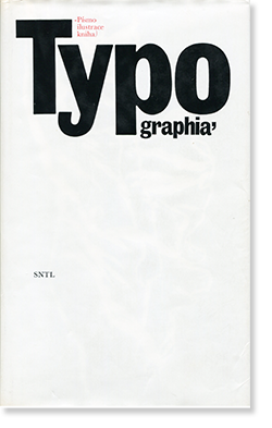 TYPOGRAPHIA Pismo, ilustrace, kniha タイポグラフィ フォント・イラスト・書籍