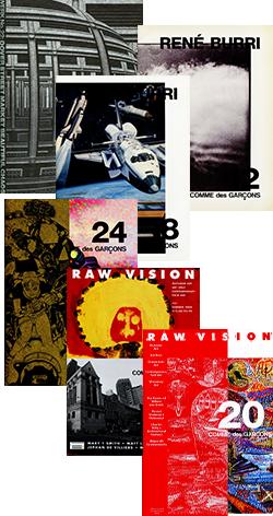 COMME des GARCONS 2012-2016 DM 23 volume set コム デ ギャルソン DM 23冊セット