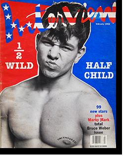インタビュー・マガジン 1992年2月号 Andy Warhol's Interview magazine 1992 February Bruce Weber issue ブルース・ウェーバー