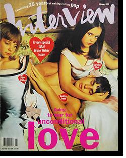 インタビュー・マガジン 1994年2月号 Andy Warhol's Interview magazine 1994 February Bruce Weber issue ブルース・ウェーバー