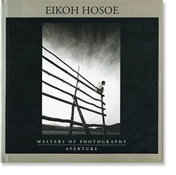 EIKOH HOSOE: The Aperture Masters of Photography 細江英公 献呈署名本 Dedication signature