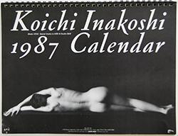 Koichi Inakoshi 1987 Calendar 稲越功一 1987年カレンダー 署名本 signed