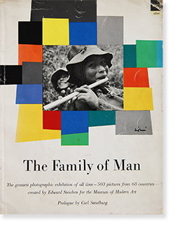 THE FAMILY OF MAN an exhibition catalogue first edition Edward Steichen ザ・ファミリー・オブ・マン 展覧会カタログ