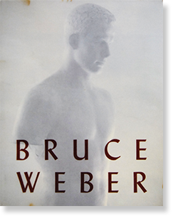 BRUCE WEBER Schirmer Mosel edition 1989 ブルース・ウェーバー 写真集