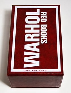 RED BOOKS ANDY WARHOL アンディ・ウォーホル 作品集