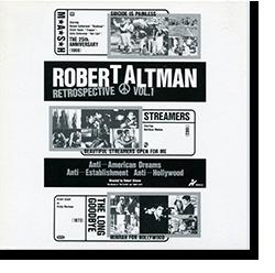 ROBERT ALTMAN RETROSPECTIVE Vol.1 ロバート・アルトマン・レトロスペクティヴ 劇場用パンフレット
