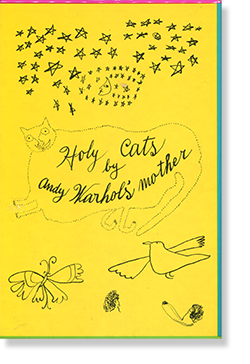 25 Cats Name Sam and One Blue Pussy & Holy Cats by ANDY WARHOL アンディ・ウォーホル 作品集