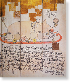 ANDY WARHOL Drawings & Related Works 1951-1986 アンディ・ウォーホル 展覧会カタログ
