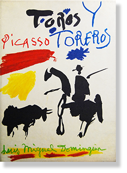 TOROS Y TOREROS by Pablo Picasso 3rd edition 闘牛と闘牛士 パブロ・ピカソ 作品集