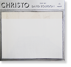 CHRISTO Christo and Jeanne Claude Text by DAVID BOURDON クリスト 作品集
