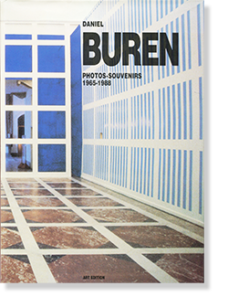 DANIEL BUREN: PHOTOS・SOUVENIRS 1965-1988 ダニエル・ビュラン 作品集
