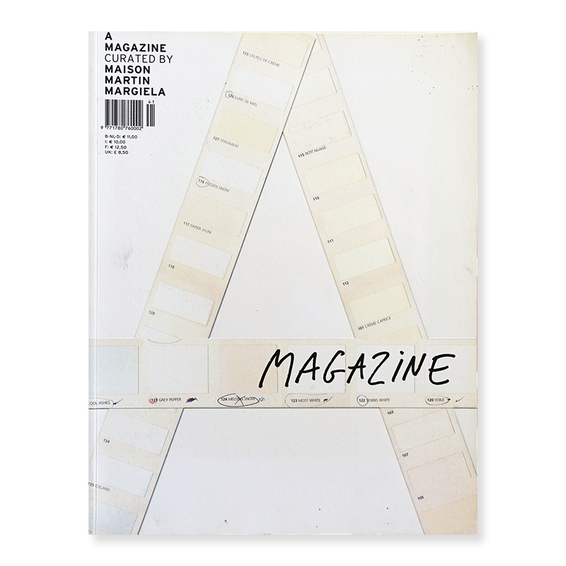 A MAGAZINE #1 Curated by MAISON MARTIN MARGIELA メゾン・マルタン・マルジェラ