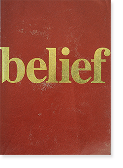 Belief: Singapore Biennale 2006 Exhibition Short Guide 第1回シンガポールビエンナーレ 2006年 ショート・ガイドブック