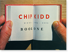 CHIP KIDD Book One WORK: 1986-2006 チップ・キッド 作品集