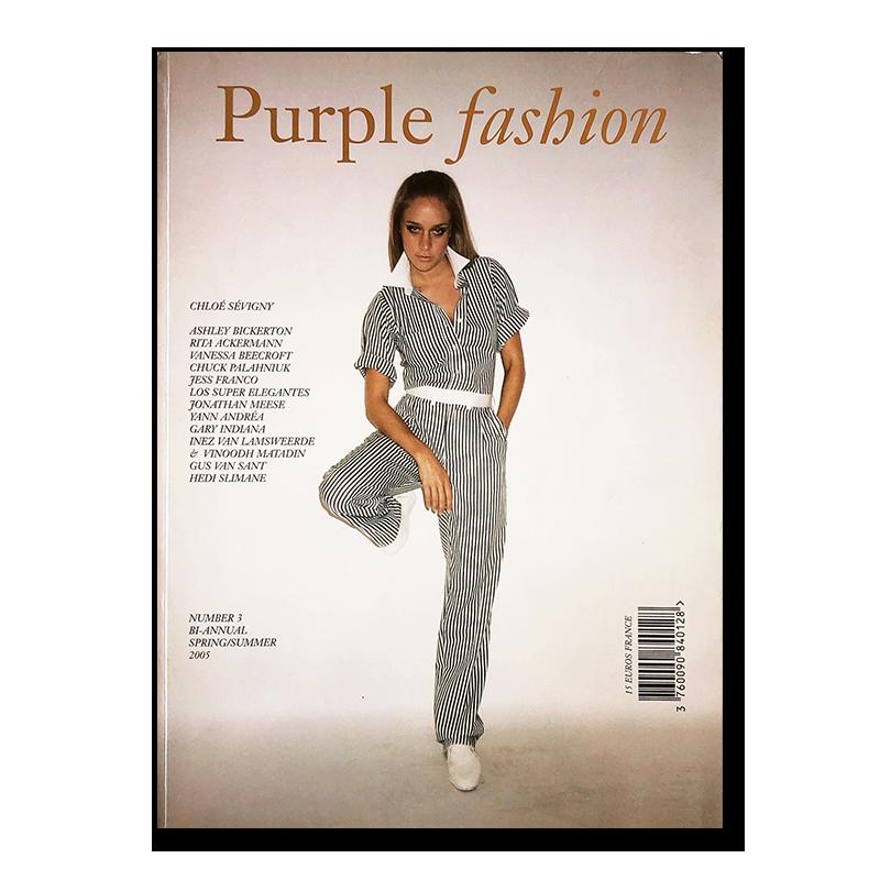 Purple Fashion Year 14 Number 3 Spring/Summer 2005 パープルファッション