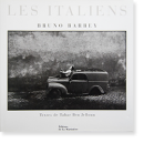 LES ITALIENS Bruno Barbey イタリア人 ブルーノ・バルベイ 写真集 献呈署名本 Dedication signature