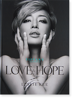 LOVE & HOPE hardcover edition Leslie Kee レスリー・キー 写真集 献呈署名本 Dedication signature