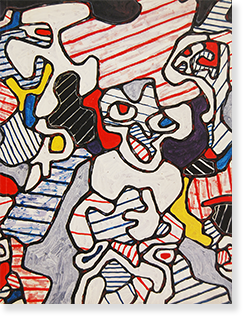 ジャン・デュビュッフェ展 カタログ JEAN DUBUFFET exhibition catalogue