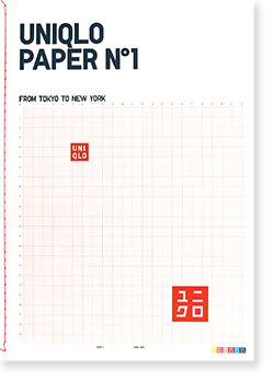UNIQLO PAPER No.1 FROM TOKYO TO NEW YORK Fall/Winter 2006 ユニクロペーパー 第1号 2006年