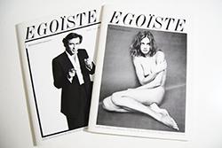 EGOISTE No.15 2 volume set Richard Avedon, Paolo Roversi エゴイスト 15号 全2冊揃 リチャード・アヴェドン 他