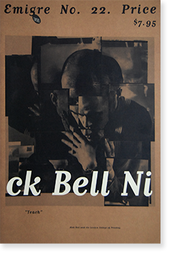 EMIGRE Magazine issue #22 TEACH Nick Bell and London College of Printing エミグレ 22号