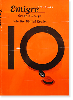 EMIGRE The Book Graphic Design into the Digital Realm エミグレ