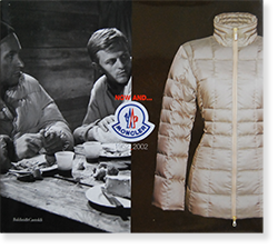 NOW AND... MONCLER 1952-2002 モンクレール
