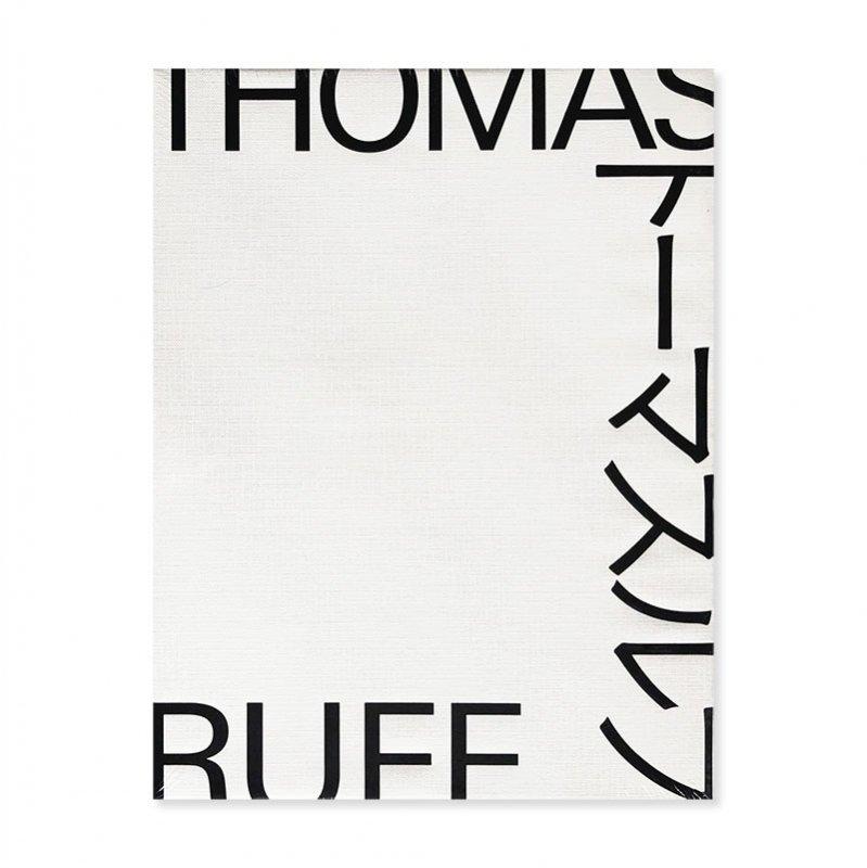 THOMAS RUFF Exhibition Catalogue in 2016 *unopened<br>トーマス・ルフ 展覧会図録 東京国立近代美術館 *新品未開封