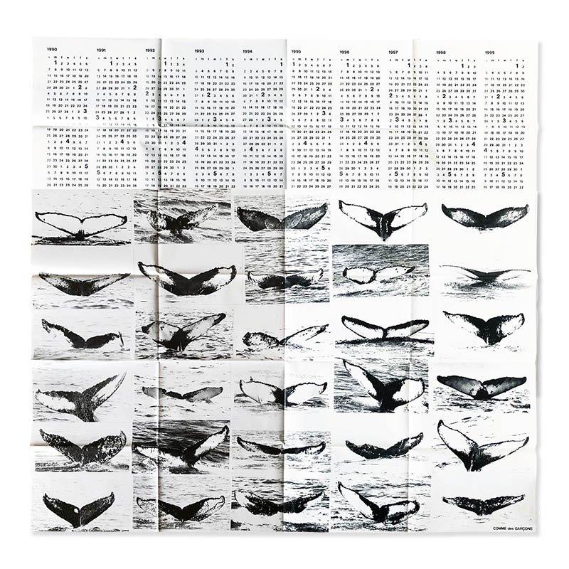 COMME des GARCONS 1990s Calendar+Poster<br>コムデギャルソン 1990年代カレンダー+ポスター
