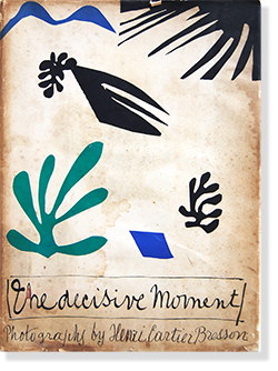 THE DECISIVE MOMENT First American edition Henri Cartier-Bresson 決定的瞬間 初版 アンリ・カルティエ=ブレッソン