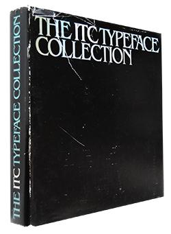 THE ITC TYPEFACE COLLECTION インターナショナル・タイプフェイス・コーポレーション タイプフェイス・コレクション