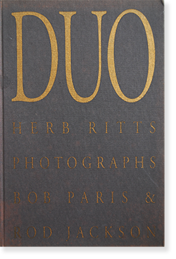 DUO Herb Ritts Photographs Bob Paris & Rod Jackson ハーブ・リッツ 写真集