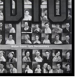 Lyric Documentary Walker Evans ウォーカー・エヴァンス 写真集