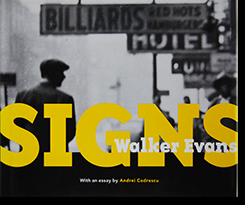 SIGNS Walker Evans ウォーカー・エヴァンス 写真集